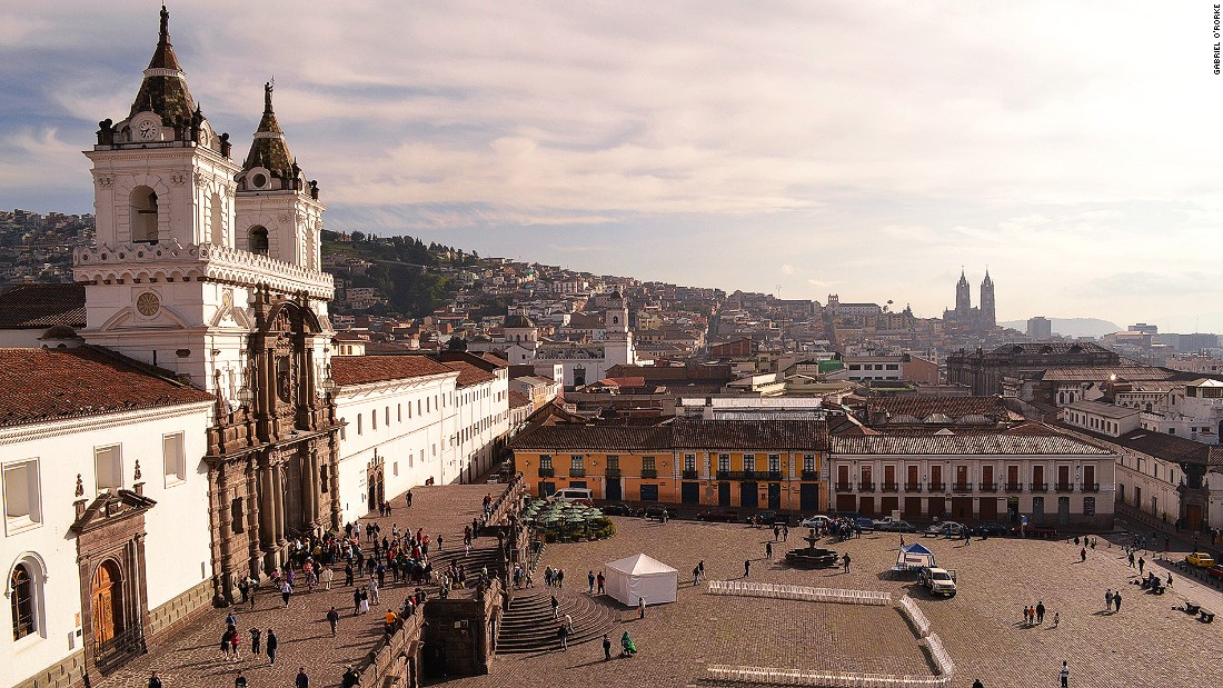 Quito is the best-preserved, least altered historic center in the whole of Latin America. Streets in Ecuador's capital city are lined with architecture bringing together Spanish, Italian, Moorish, Flemish, Baroque and indigenous influences.