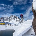 South America travel Ski Portillo Hotel Lake