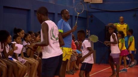 rio olympics samba badminton damon pkg _00002611.jpg