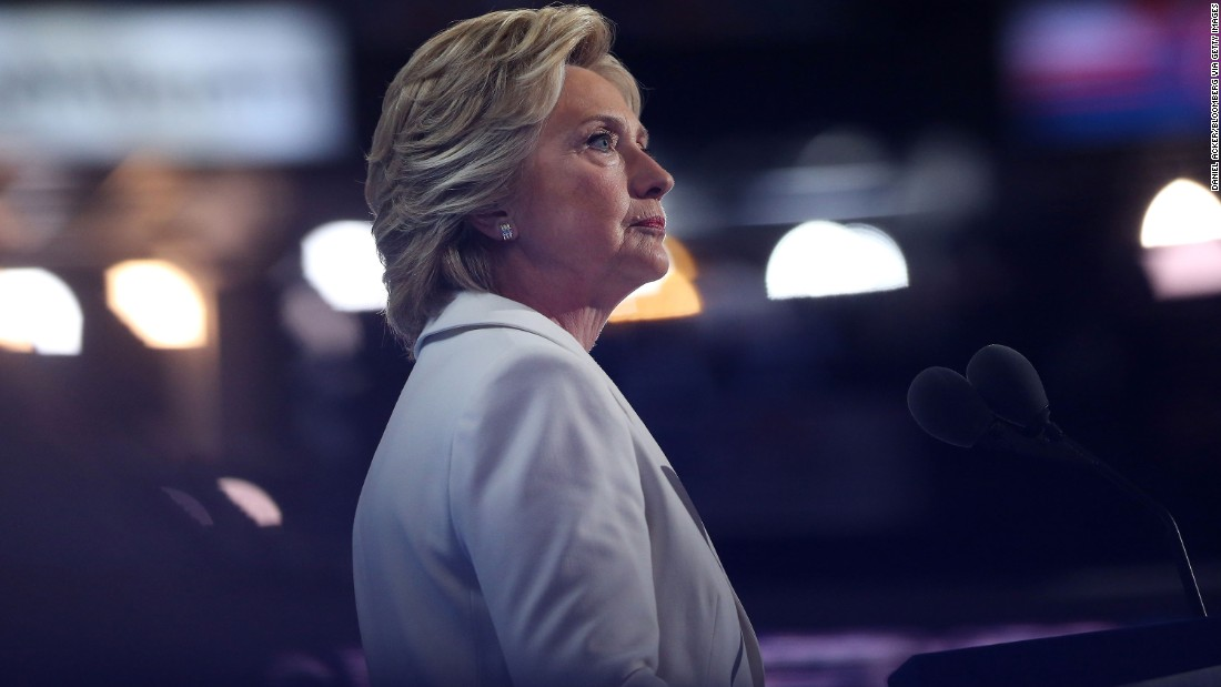 Hillary Clinton makes history as she accepts the 2016 Democratic nomination for president at the Democratic National Convention in Philadelphia on Thursday, July 28. The former first lady and secretary of state became the first woman to lead the American presidential ticket for a major political policy.
