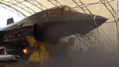F-35 fighter jet fires 55 rounds per second