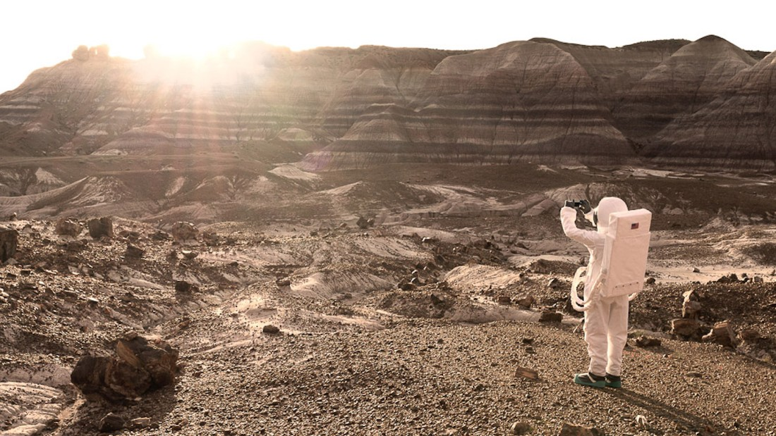 """""""As with the Wild West, we could imagine a point where Mars would become a touristic destination,"""" says Mauve.<br />"""