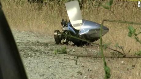 medical plane crash California kills four orig vstop dlewis_00000000