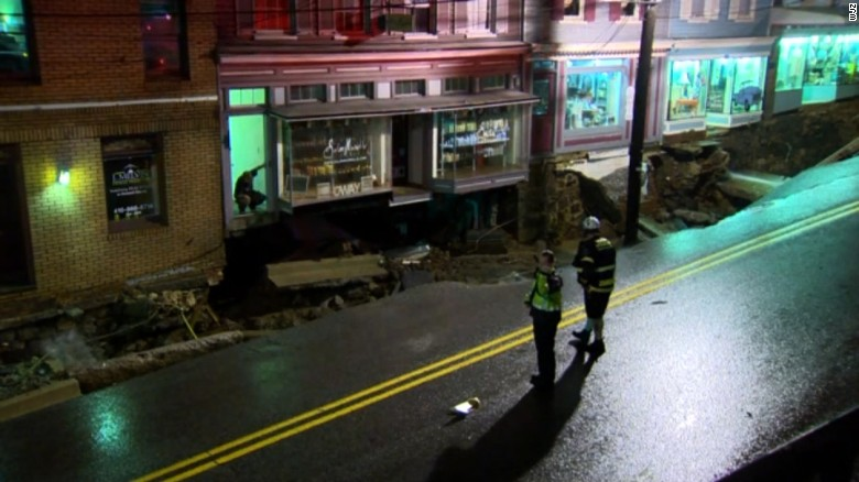 Flooding snarls Baltimore area