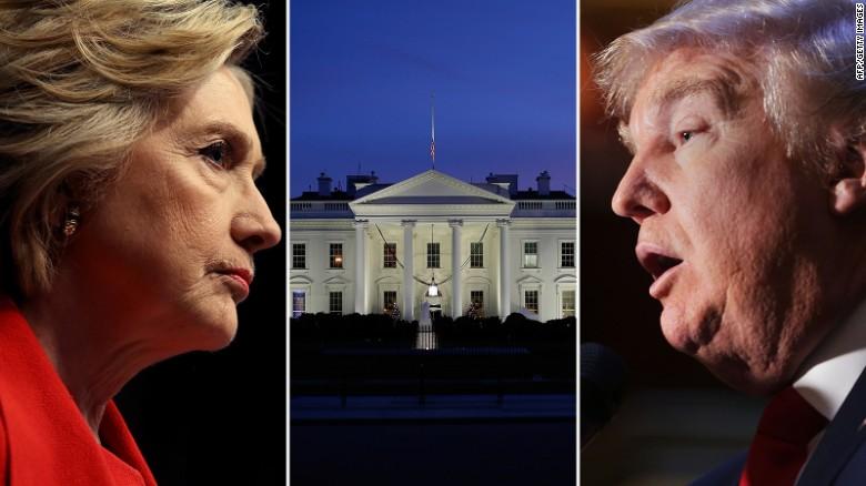 CNN poll of polls: Clinton has double digit lead