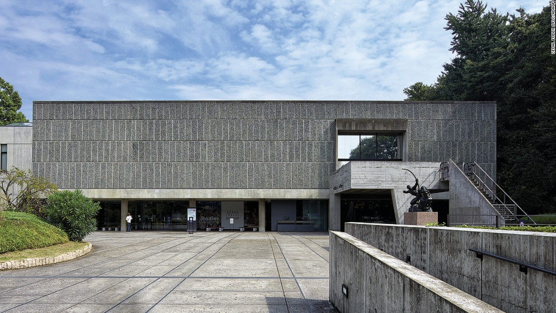 When the French government agreed to return Japanese industrialist Kojiro's works to Japan, they did it on the condition that they should be housed in a museum made by a Frenchman. Le Corbusier was a lead designer of the structure but detailing and construction supervision was done by Japanese architects.