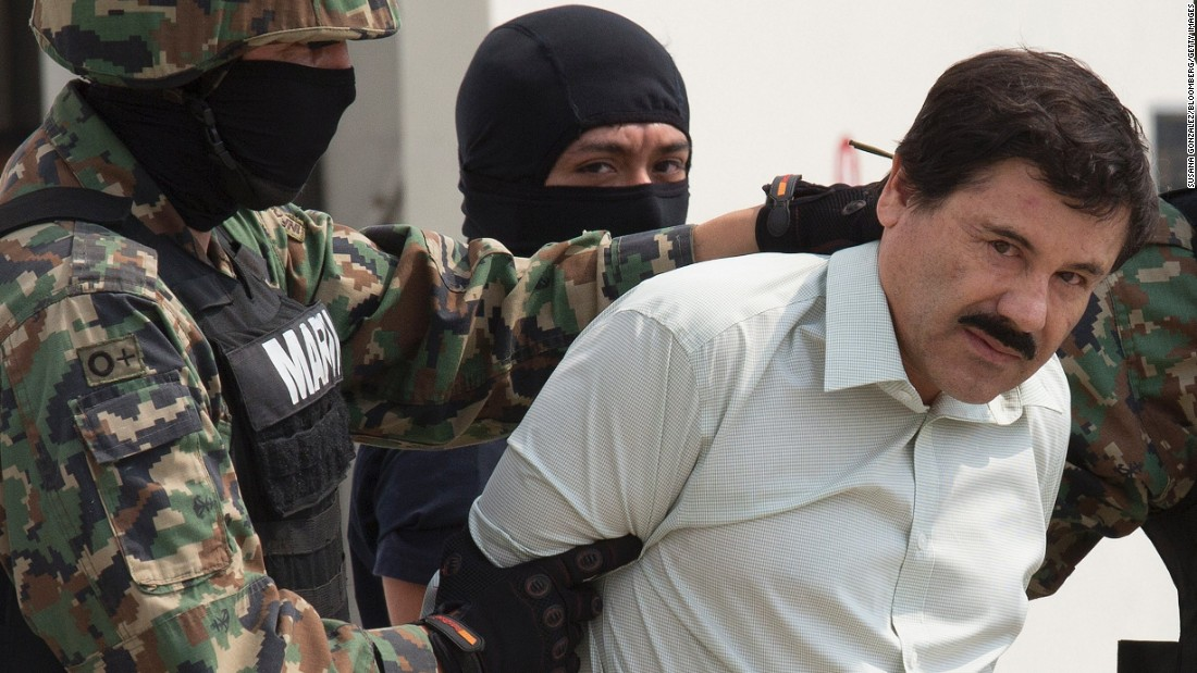 """Joaquin """"El Chapo"""" Guzman could soon be heading to the United States. Mexico says it will extradite the Sinaloa cartel kingpin, who faces federal charges in six different states north of the border. But it's unclear when the transfer could happen. <a href=""""http://www.cnn.com/2016/07/05/americas/el-chapo-guzman-brooklyn-prison/"""" target=""""_blank"""">Guzman is in prison in Ciudad Juarez, Mexico,</a> while his attorneys appeal."""