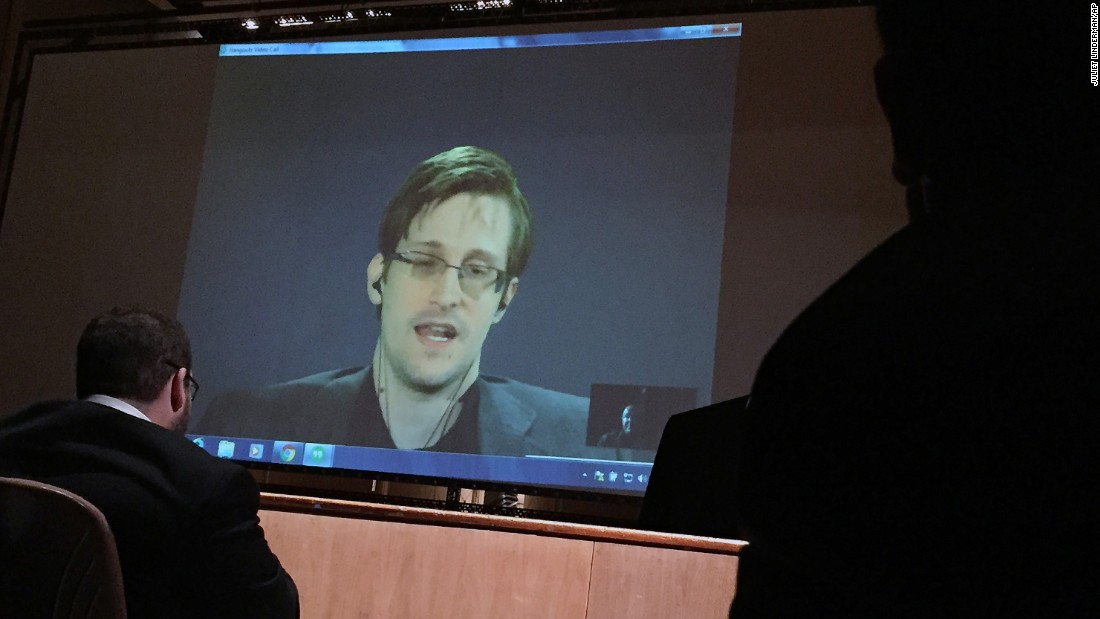 """Russia has said <a href=""""http://www.cnn.com/2014/01/24/world/europe/russia-snowden/"""" target=""""_blank"""">it won't send Edward Snowden back to the United States,</a> where the former National Security Agency contractor faces espionage charges for leaking classified documents. Russia offered him asylum in 2013."""