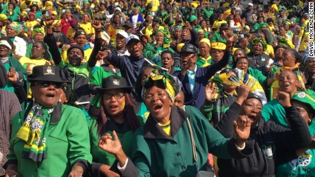South Africa's ruling party suffering biggest electoral blow