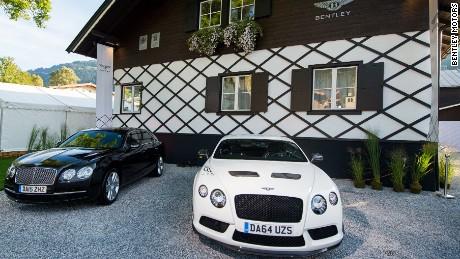 Bentley's mountain lodge in Kitzbuhel, Austria.