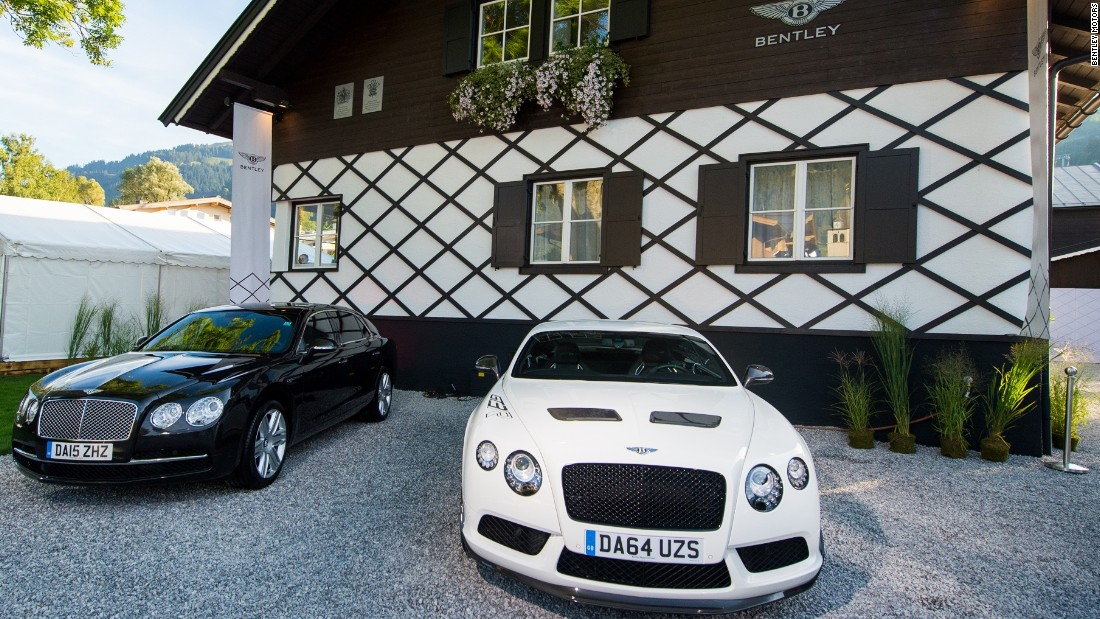 """Bentley Motors announced the opening of its first ever mountain lodge in Kitzbühel, Austria, in 2015. Nestled in one of the most exclusive Alpine hotspots and surrounded by breathtaking peaks and valleys, the fully-serviced and luxuriously furnished chalet offer a new concept of """"living the Bentley essence""""."""
