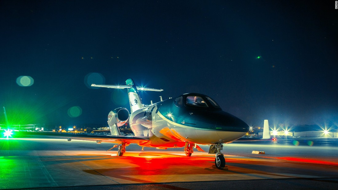 """Honda claims its new HA-420 HondaJet is the """"fastest, highest-flying, quietest, and most fuel-efficient jet in its class"""". Founded in 2006, Honda Aircraft Company's world headquarters is located in North Carolina -- the birthplace of aviation. The plane fulfils a longstanding Honda dream to """"advance human mobility skyward""""."""