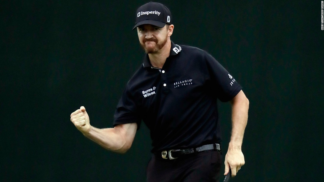 "Jimmy Walker pumps his fist after <a href=""http://www.cnn.com/2016/07/31/golf/pga-championship-jimmy-walker-jason-day/"" target=""_blank"">winning the PGA Championship</a> with a par putt on the last hole Sunday, July 31. It was the first major title for Walker, who edged Jason Day by one shot at Baltusrol Golf Club in Springfield, New Jersey."