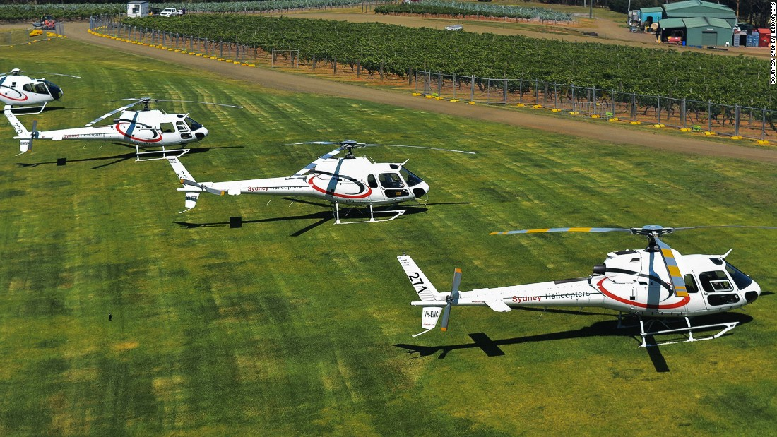 In addition to top-notch aerial views of the Opera House and Sydney Harbour Bridge, Sydney Helicopters' Hunter Valley Pub tour is also a helicopter pub crawl including stops at quirky rustic ale houses, boutique wineries and elegant vineyard estates.