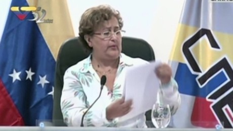 cnnee brk venezuela mensaje tibisay lucena cne venezuela revocatorio_00000000
