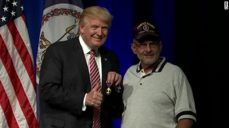 Trump on military service: 'I've regretted not serving in many ways'