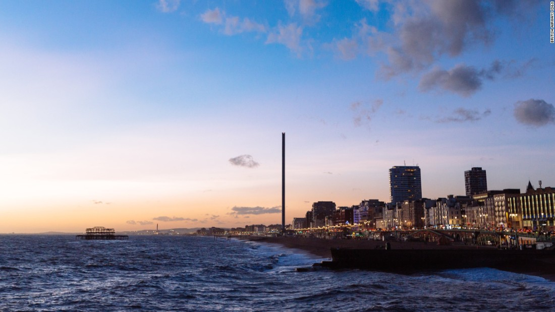 In all, British Airways i360 cost £42.2 million ($55.9 million) to construct.