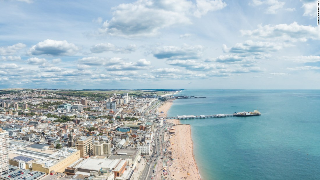 From the top of the tower, visitors will be able to look out onto Brighton's cityscape and the English Channel.