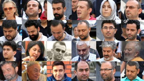 The names and faces of Turkey's media crackdown