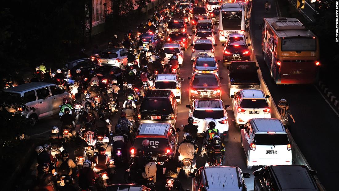 jakarta indonesia traffic - photo #30