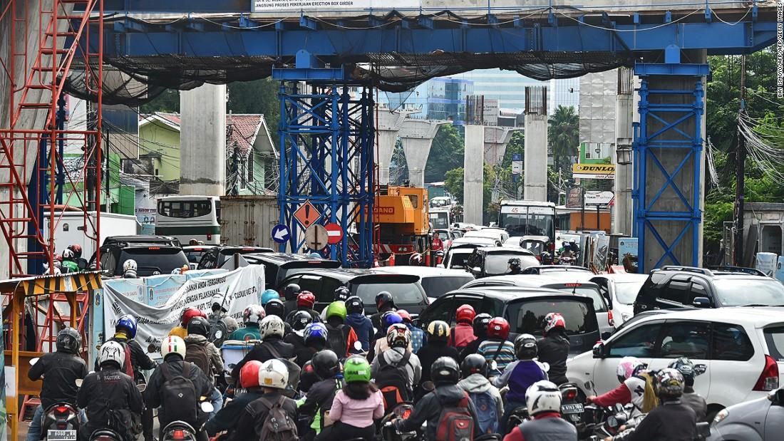jakarta indonesia traffic - photo #1
