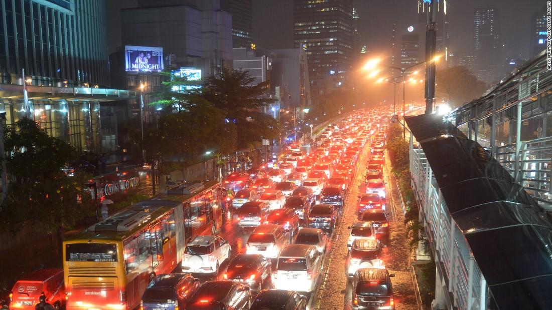 App Helps Navigate Peculiar Traffic Gridlock