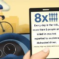 distracted driving graphic three