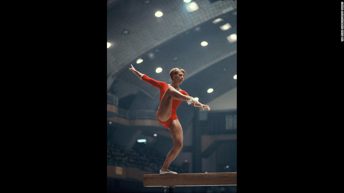 <strong>The gold standard:</strong> Soviet gymnast Larisa Latynina won six medals in the 1964 Summer Games, giving her a record 18 medals -- nine of them gold -- over three Olympics. Only Michael Phelps has won more Olympic medals.