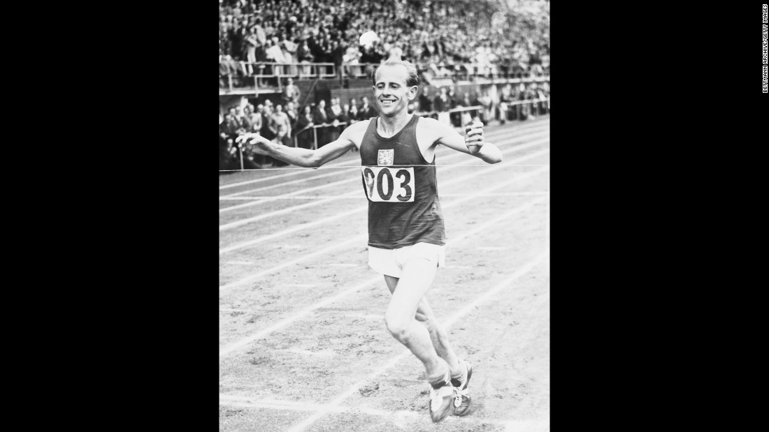 "<strong>""The Czech Locomotive"":</strong> Emil Zapotek is the only person to win the 5,000 meters, the 10,000 meters and the marathon all in the same Olympics (1952). But perhaps even more amazing was that until that point, he had never run a marathon in his life."