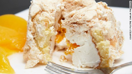 Postre Chaja is named after a species of South American bird.