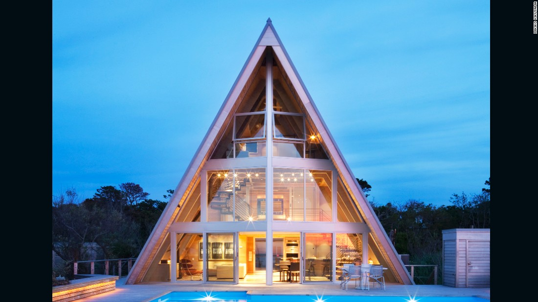 """<a href=""""http://www.pinesmodern.org/"""" target=""""_blank"""">Fire Island Pines</a> boasts a collection of beautifully maintained Modern beach houses commissioned in the mid-twentieth century by the resort's gay community. Scroll through to find out more.<br /><strong><br />Pictured:</strong> 601 Tuna Walk - Architect: unknown, renovated 2013, Bromley Caldari Architects."""