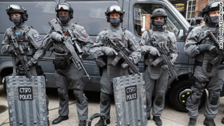 Armed officers will reassure and help the public against any attackers, the police comissioner says.