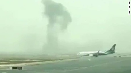 Dubai Emirates plane fire richard quest beeper _00001419.jpg