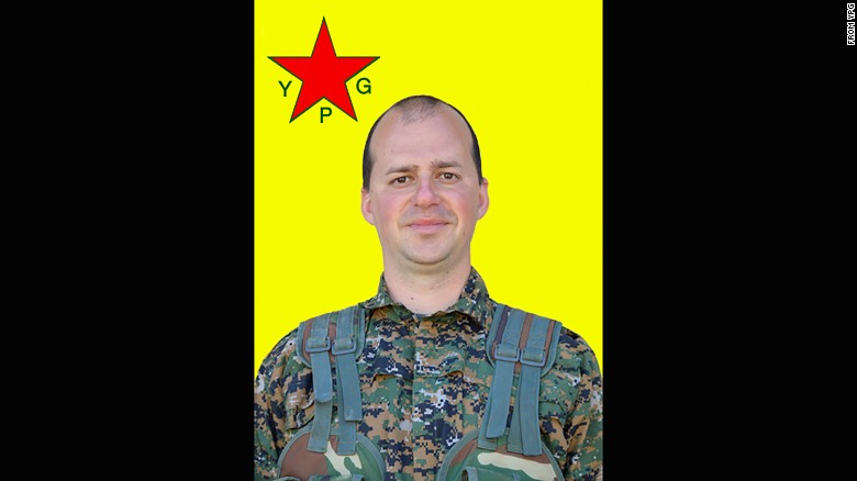 Martin Gruden of Slovenia was killed in Manbij on July 27, the YPG said.