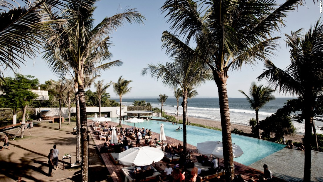 Opened in 2010, Potato Head Beach Club sits on a premium plot of sand in Seminyak, Bali. The beach bar has garnered a reputation as a place to see and be seen, with sexy lounge chairs, a swim-up bar and international DJ performances.