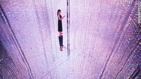 Japan's crystal universe: A magical installation from another planet
