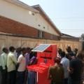 ARED mobile solar kiosk