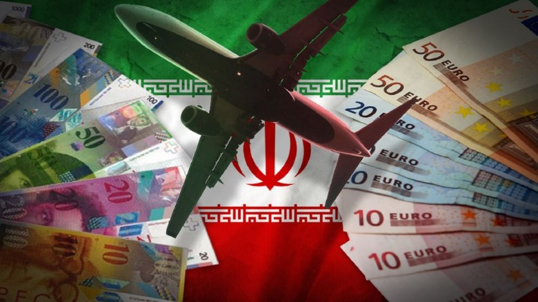 Iranian TV airs video purporting to show cash arriving
