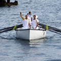 Olympic torch boat