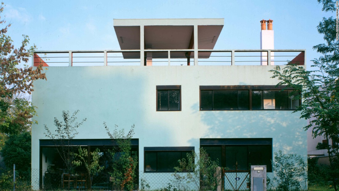 """Businessman Henry Frugès commissioned Le Corbusier to design a house saying, """"I am going to enable you to realize your theories in practice, right up to their most extreme consequences."""" Le Corbusier built the house entirely from reinforced concrete."""