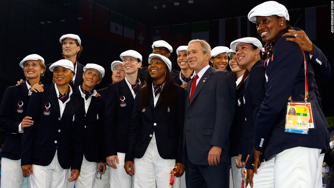 """<strong>Beijing, 2008:</strong> The year Team U.S.A. looked like the cast of the fanciest, most athletic production of """"Newsies"""" ever."""