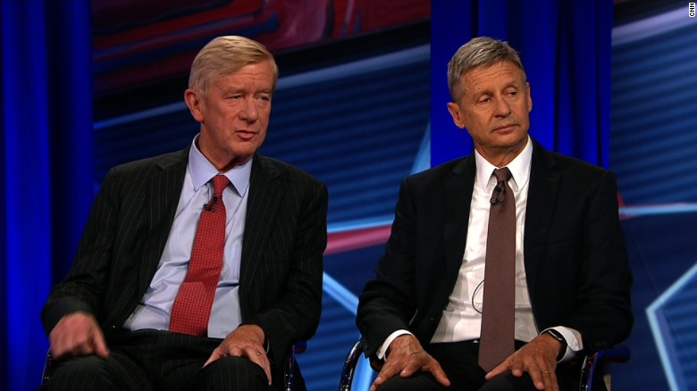 CNN's second Libertarian town hall in 90 seconds