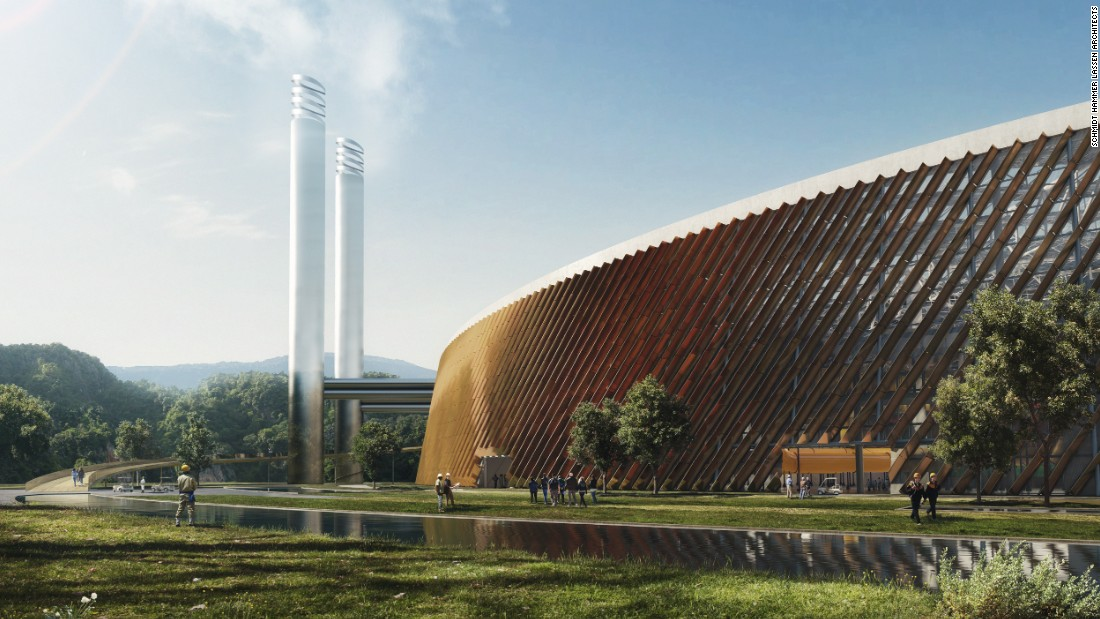 Due to complete in 2020, the plant will be encircled by a public park and a 1.5km panoramic public walkway.