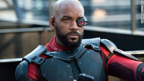 """Will Smith plays Deadshot in """"Suicide Squad."""""""