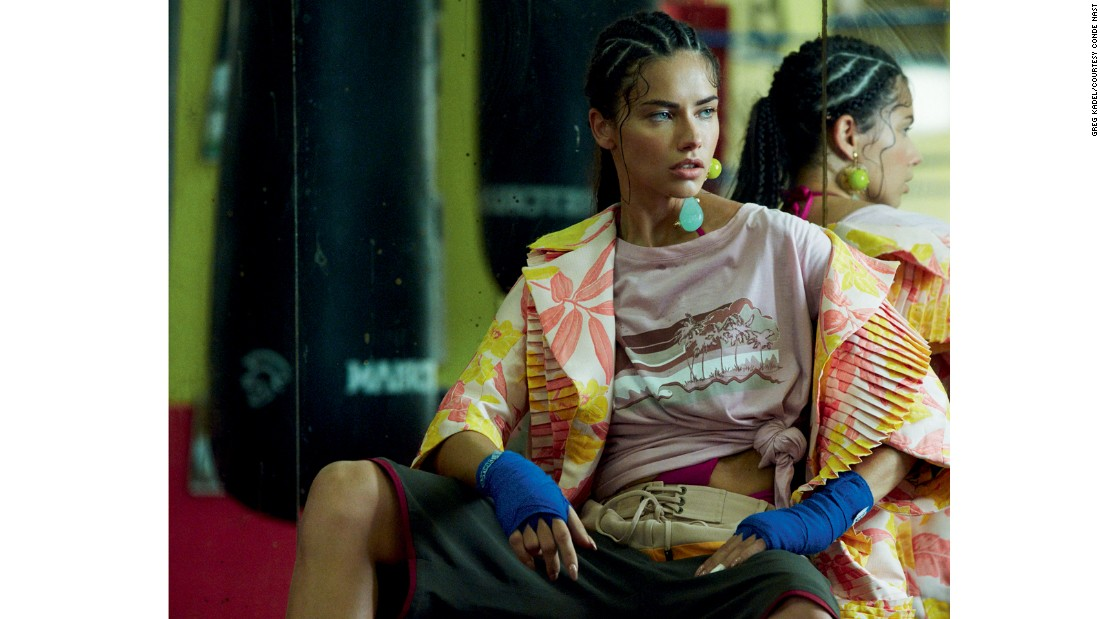 Lima has been boxing for ten years, feeling that it is a very empowering sport.