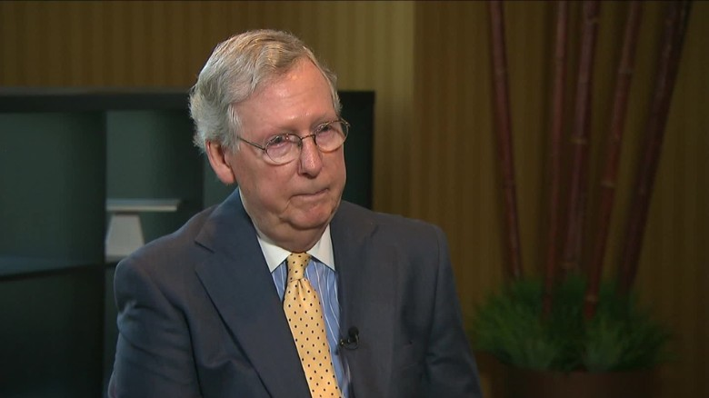 McConnell: Trump effect on Senate races is unclear