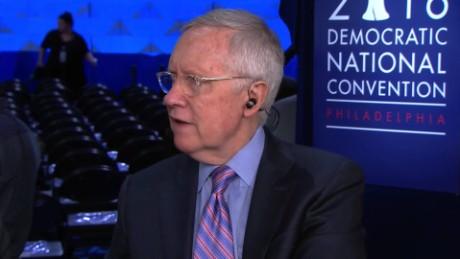 Harry Reid talks Trump, down-ballot Senate races