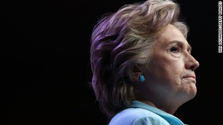WASHINGTON, DC - AUGUST 05:  Democratic presidential nomiee Hillary Clinton addresses the National Association of Black Journalists and the National Association of Hispanic Journalists August 5, 2016 in Washington, DC. Clinton took questions following her remarks.  (Photo by Win McNamee/Getty Images)
