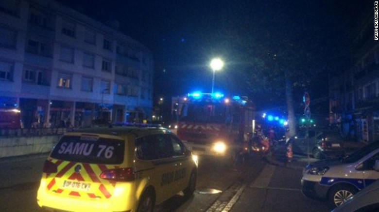 French bar fire witness: Suddenly everything blew