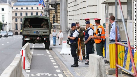 Belgian machete attack being investigated as terrorism